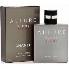 Масляные духи Rever Parfum G025 Версия аромата Chanel Allure Homme Sport Eau Extreme 50 мл